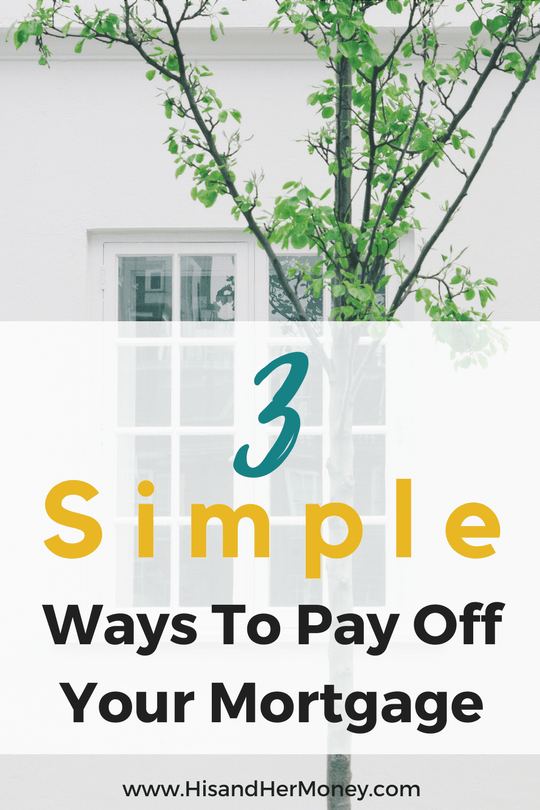 learn these three simple mortgage tips that are doable and achievable to pay off your mortgage