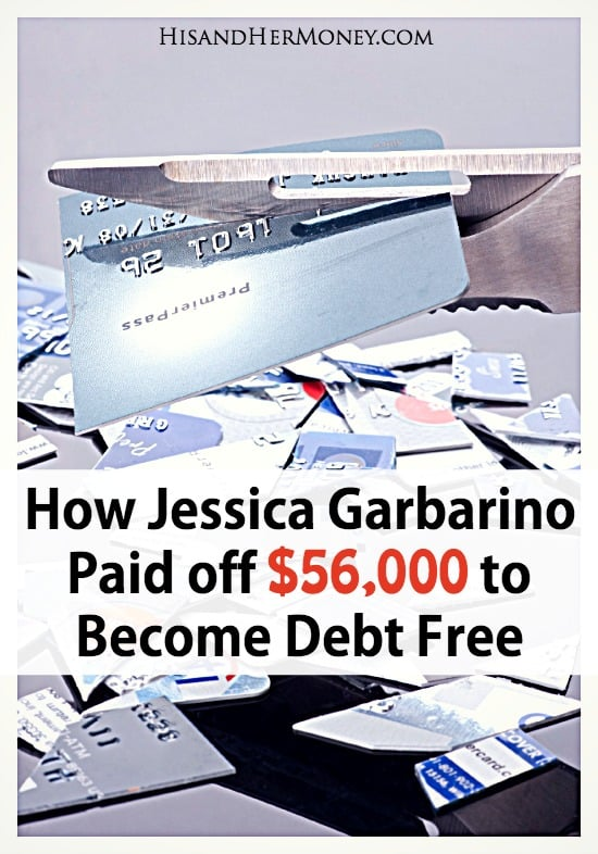 Jessica Garbarino is debt free