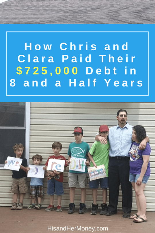 How Chris and Clara Paid Their $725,000 Debt in 8 and a Half Years
